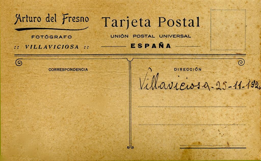 Tarjeta Postal de Villaviciosa